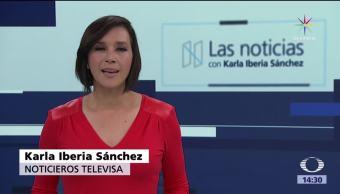 noticias, forotv, Las noticias, con Karla Iberia, Programa, 7 de julio 2017
