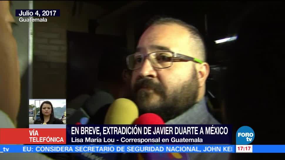 noticias, forotv, Guatemala, tiene premura, entregar, Javier Duarte