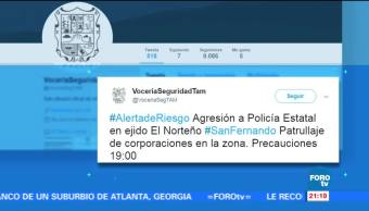 Activan, alerta de riesgo, San Fernando, Tamaulipas, Reynosa, Crimen