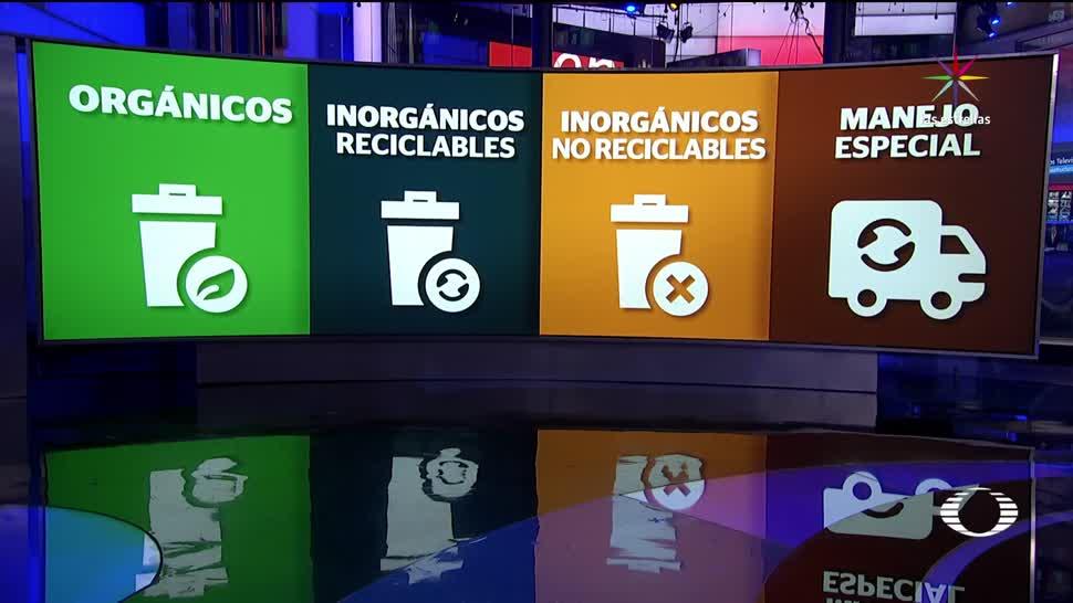 Entra, nueva, norma, separar basura, residuos, CDMX