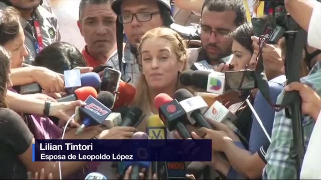 Seguiremos Lucha, Presos Politicos, Lilian Tintori, Esposa De Leopoldo López