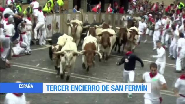 Tercer, Encierro, San Fermín, España