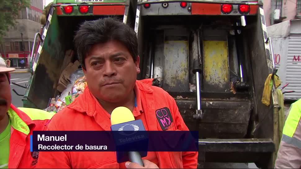 Segundo Dia, Nueva Forma, Recolectar Basura, CDMX