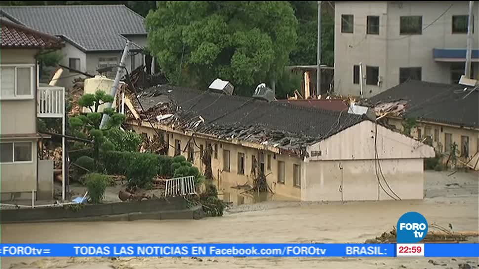 Suman, 18 Muertos, Inundaciones, Japón, Prefecturas, afectaciones