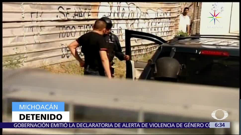 policía de Michoacán, menor, separos, violarla