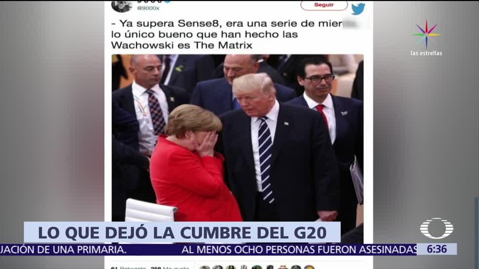 cumbre del G20, protocolo, Donald Trump, aislado