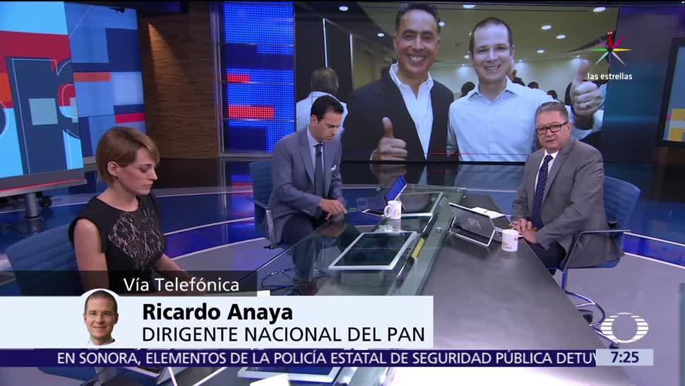 Ricardo Anaya, líder nacional, PAN, elección, gobernador en Coahuila