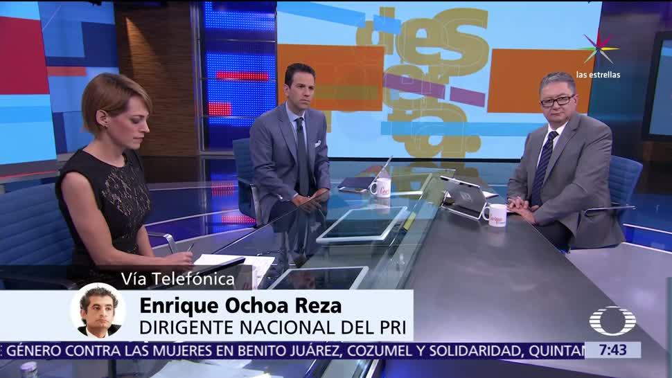 Enrique Ochoa Reza, candidato del PRI, campaña en Coahuila, fiscalización