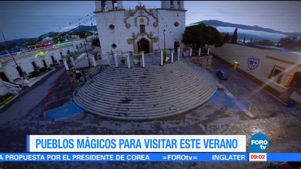 Ximena Cervantes, reportaje, pueblos mágicos, verano