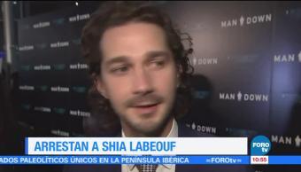 actor Shia Labeouf, embriagarse, vía pública, Georgia, fianza