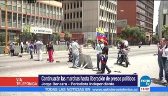 periodista independiente, Jorge Benezra, Leopoldo López, cárcel, Venezuela