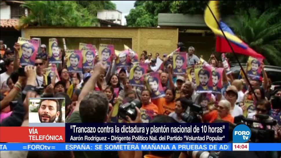 419 Presos Politicos, Venezolanos Encarcelados, Dirigente Nacional Del Partido Voluntad Popular, Aaron Rodriguez,