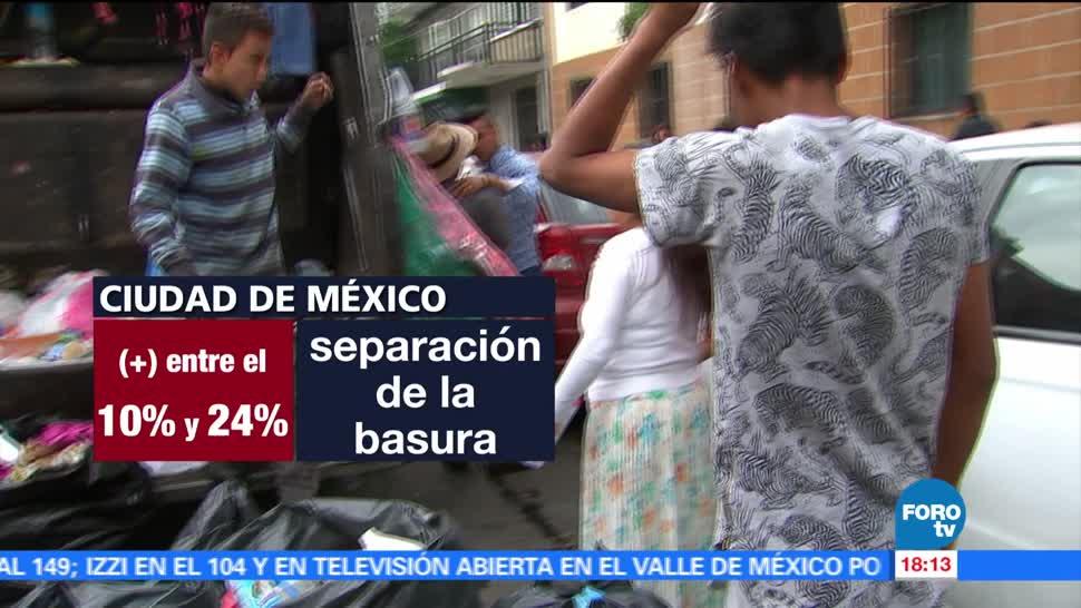 separarse la basura, Ciudad de México, nueva Norma de Separación de Basura