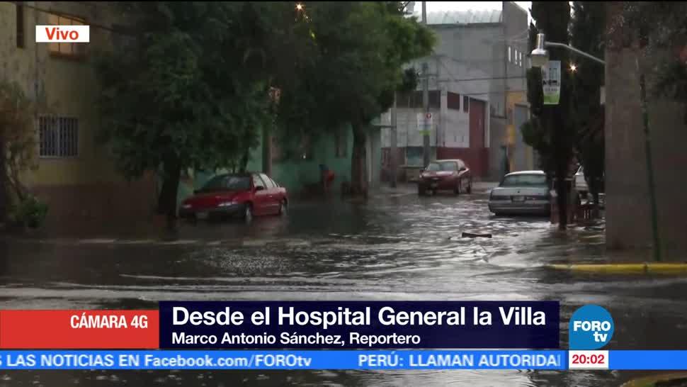 noticias, forotv, Lluvias, afectan noreste, CDMX, Encharcamientos