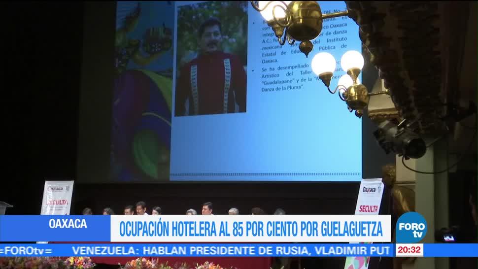 noticias, forotv, registra, ocupación hotelera, Oaxaca, Guelaguetza