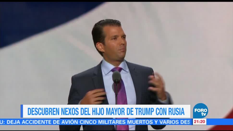 noticias, forotv, Descubren, nexos, Trump jr, Rusia