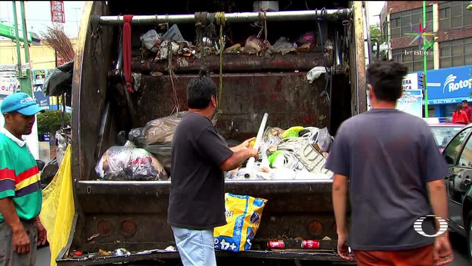 noticias, televisa, Confusión, bolsas revueltas, nueva norma, separar basura en la CDMX
