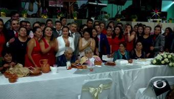 noticias, televisa, Celebran, 75 años, matrimonio, Hidalgo