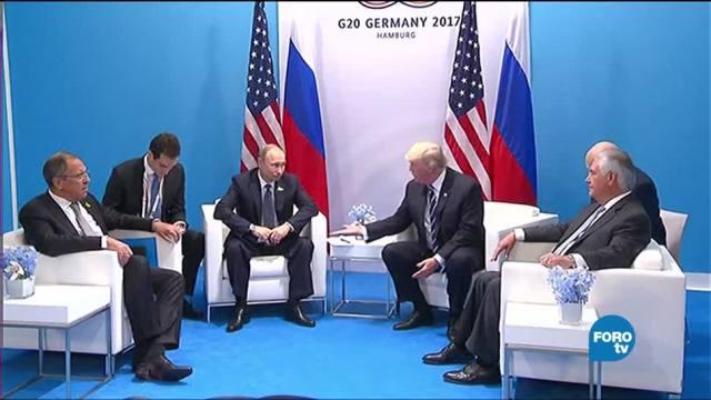 noticias, forotv, Encuentro, EU-Rusia, G20, triunfo para Putin