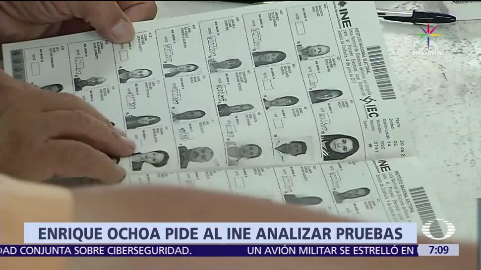 Enrique Ochoa Reza, líder nacional del PRI, INE, campaña en Coahuila, topes de campaña