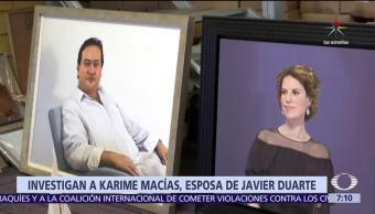Miguel Ángel Yunes, Fiscalía de Veracruz, Karime Macías, exgobernador Javier Duarte