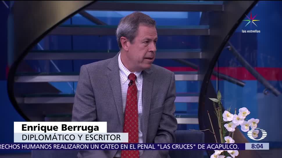 exembajador de México, ONU, Enrique Berruga, libro 'El American Dream', Trump