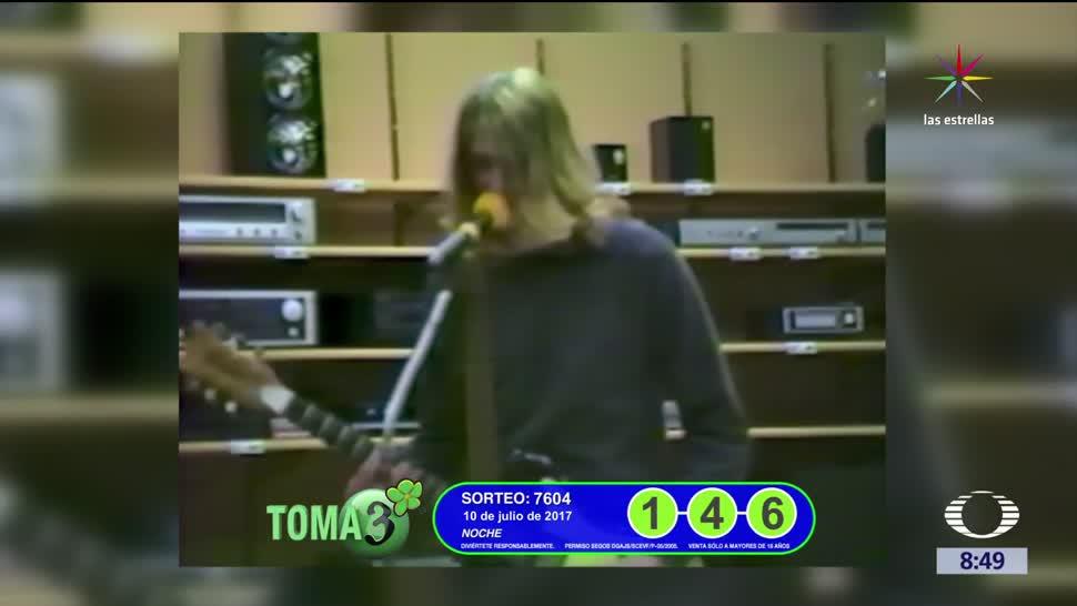 escena inédita, video olvidado, Kurt Cobain, Nirvana