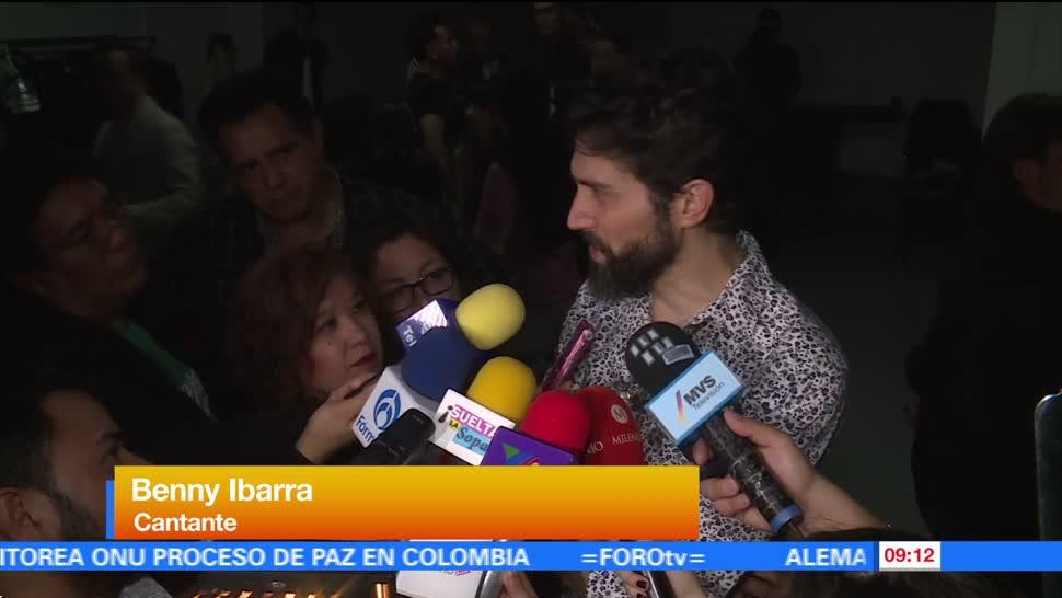 Benny Ibarra, costo de los boletos, conciertos, reencuentro de Timbiriche