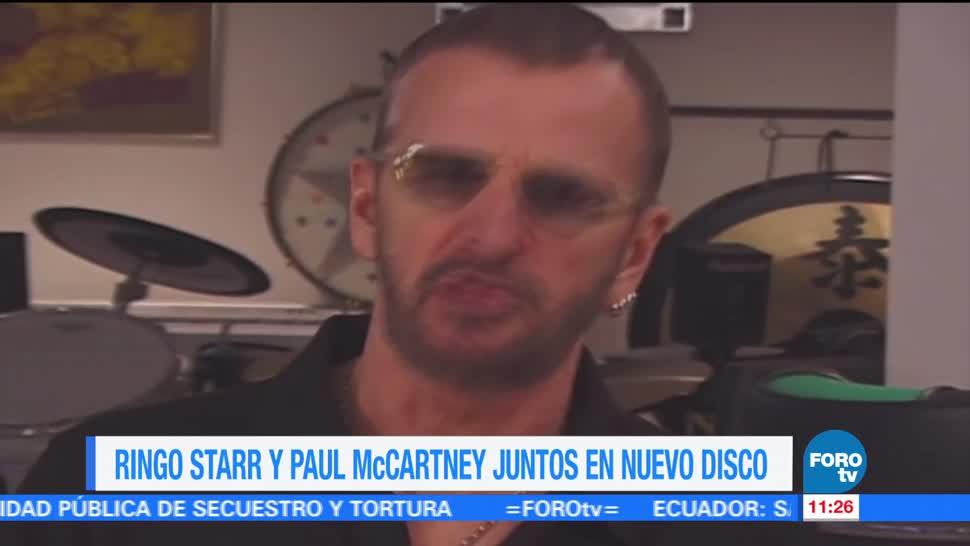 Ringo Starr, 15 de septiembre, nuevo disco, Paul McCartney