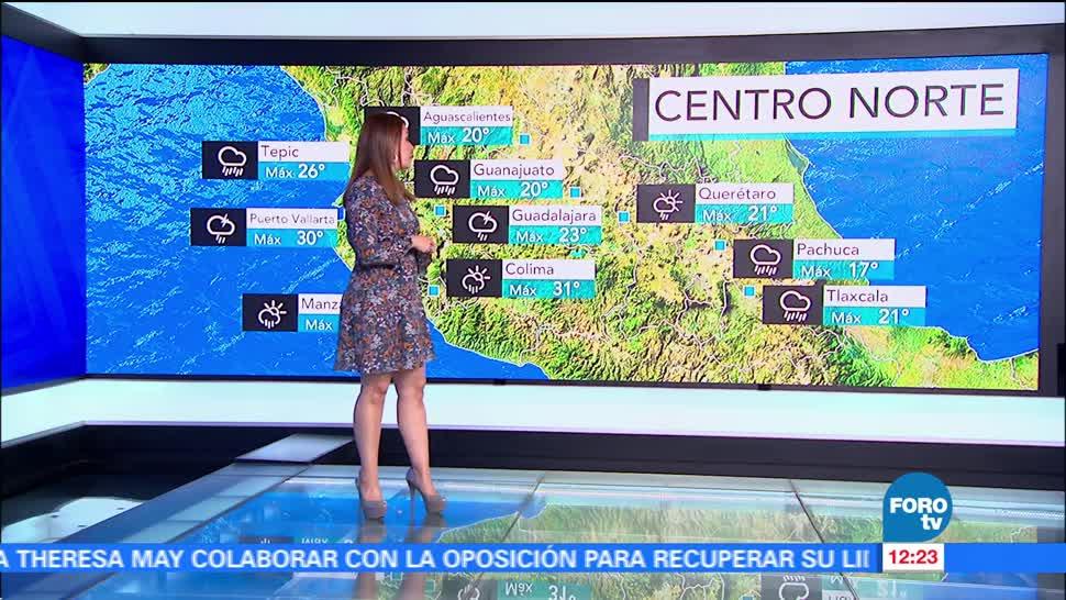 Ciudad de México, probabilidad, lluvia, tormentas eléctricas