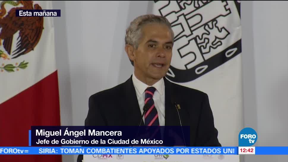 Miguel Ángel Mancera, jefe de Gobierno, CDMX, salario mínimo