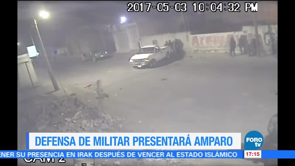 Defensa, militar acusado de homicidio, presentará amparo, huachicolero
