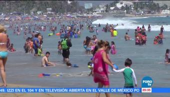 noticias, forotv, Playas, Colima, libres, riesgos sanitarios