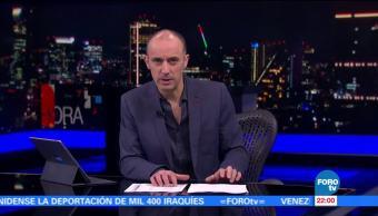 noticias, forotv, Hora 21, Programa,11 de julio de 2017, Julio Patán