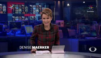 Noticias, televisa, En Punto, Programa, 11 de julio de 2017, Denise Maerker