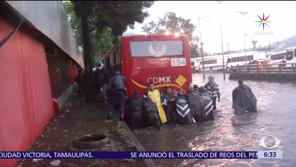 noticias, televisa, Se inunda, Insurgentes Norte, tras intensas lluvias, CDMX