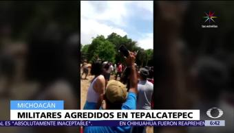 noticias, forotv, Mireles, pide apoyo, pueblo de Tepalcatepec, enfrentamiento