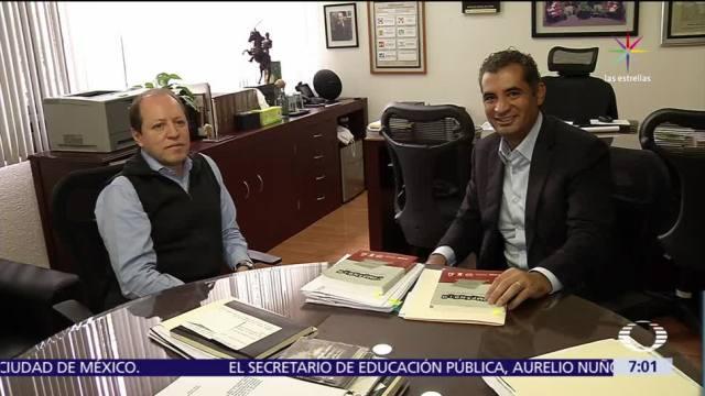 noticias, televisa, Ochoa Reza, visita a consejeros, INE, elección en Coahuila