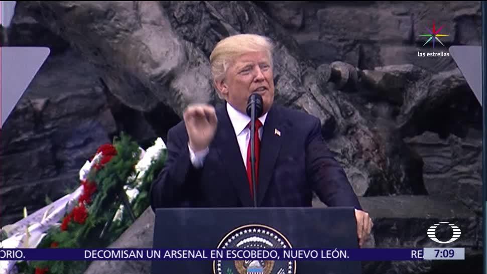 noticias, televisa, Trump, vuelve a solicitar, mil 600 mdd, construcción del muro