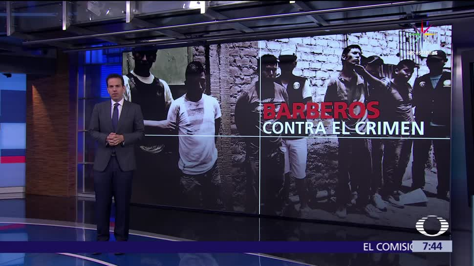 noticias, televisa, Barberías, contra el crimen, Perú, Salazar Bondy