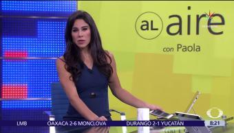 Al aire, con Paola Rojas, Programa, 12 de julio del 2017
