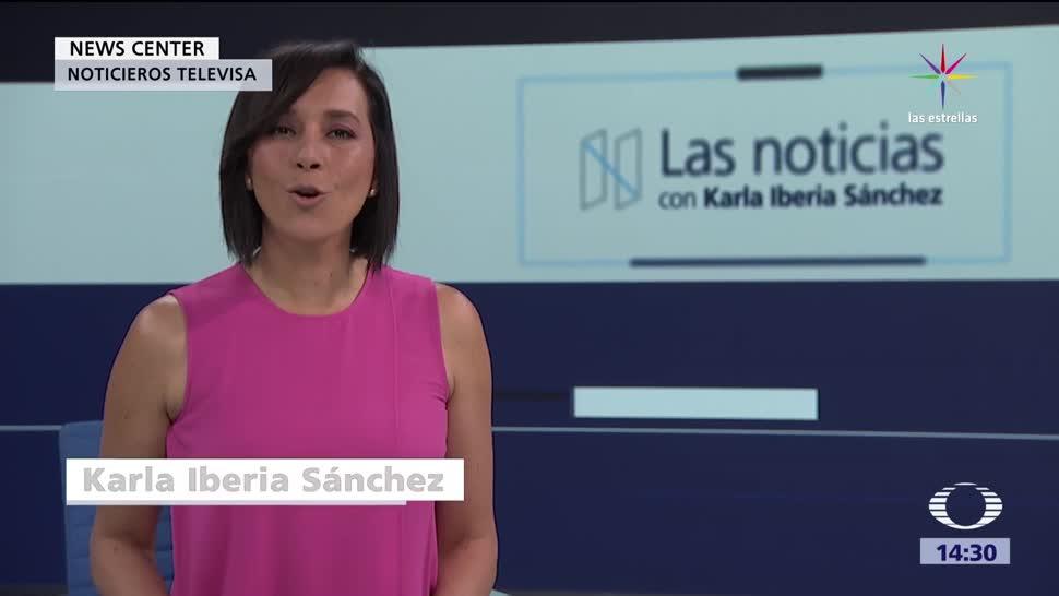 noticias, forotv, Las noticias, con Karla Iberia, Programa, 12 de julio 2017