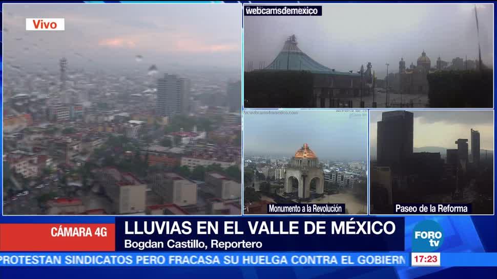 noticias, forotv, Se registra, lluvia, CDMX, reportan afectaciones