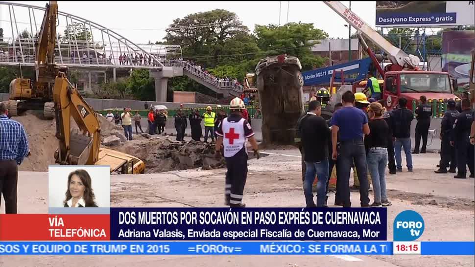 noticias, forotv, Familiares, esperan entrega, víctimas de socavón, Cuernavaca