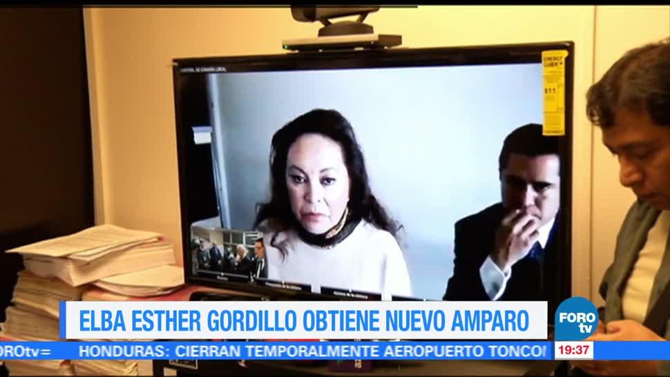 Conceden, nuevo, amparo, Elba Esther Gordillo, pirision, domiciliaria