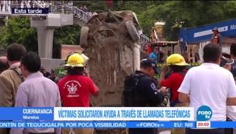 Mueren, dos personas, tras caer, socavón en Morelos, paso, express