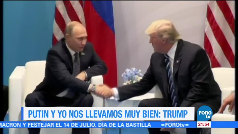 Putin, Trump, se llevan, muy bien, ruisa, estados unidos