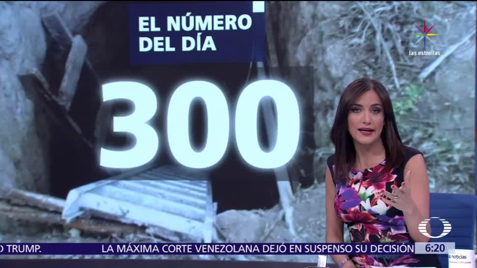 noticias, forotv, El número del día, 300, penal de Reynosa, tunel