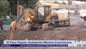 noticias, televisa, Inicia peritaje, socavón, Paso Express, Cuernavaca