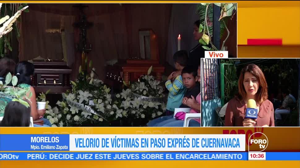 noticias, forotv, Velorio, víctimas, Paso Exprés, Cuernavaca